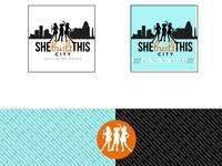She Built This City Branding empowering women branding charlotte non-profit