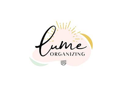 Lume Organizing Logo organizing konmari logo