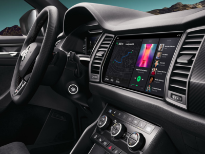 Škoda Auto Interface Concept