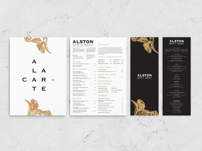 Restaurant Menu Proposal thirty30 menu card menu bar restaurant design restaurant branding menu branding menu design menu