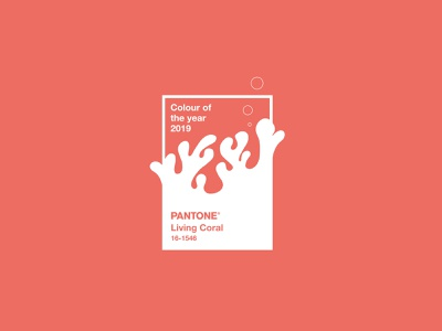 Pantone Of The Year 2019 colour of the year livingcoral colourswatch swarch colour pantonecoral coral pantone2019 pantone