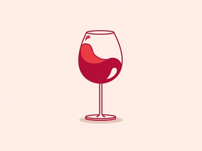 International Drink Wine Day red wine wine illustration wine illustration icon