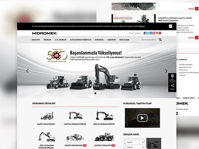 Hidromek hidromek webdesign ux ui