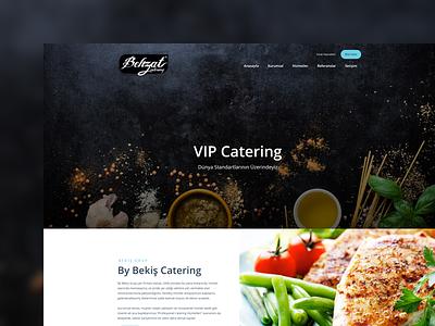 Behzat Catering behzat html css uxdesign uidesign webdesign ux ui