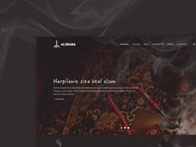 Alibaba Nargile html css alibaba webdesign ux ui