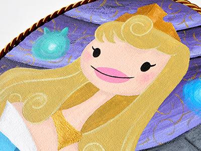 Princess Aurora  aurora princess sleeping beauty disney portrait handmade starlette fairytales