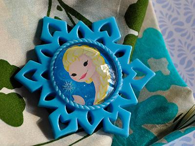 Queen Elsa Brooch starlettes elsa portraits frames disney frozen ice winter snow snowqueen brooch jewelry