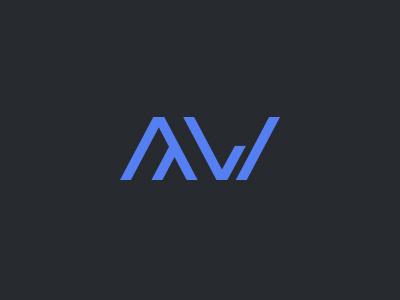 AW Logo logo symbols typo typography a w straight sharp simplicity simple shit crappy
