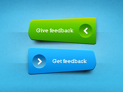 Green ^ Blue buttons, freebie psd free blue green give get feeedback download inspire freebies arrow ui ux call action shading funky lighting button .psd source open file user interface photoshop files freebie