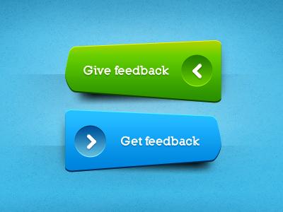 Green ^ Blue buttons, freebie