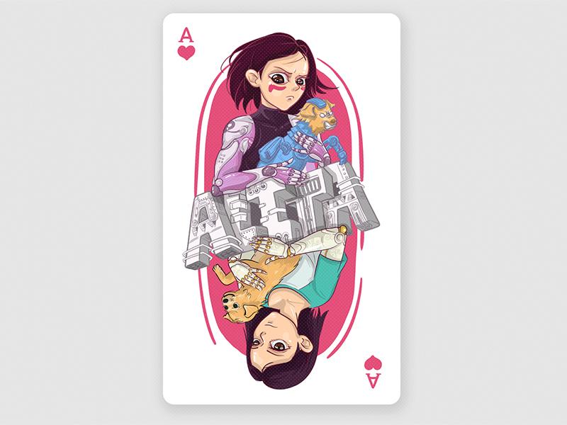 ALITA design illustration