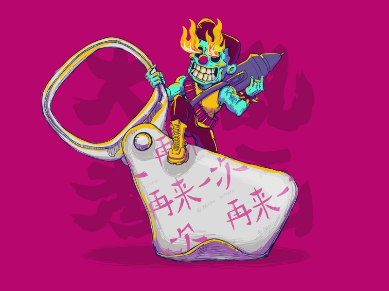 大秀乱画 design illustration