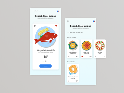 Superb-local-cuisine-right-on-your-table app local delivery app food cuisine ui design