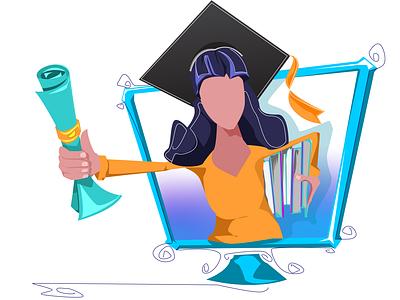 2 white 4x diploma school online