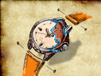 Wrist watch concept