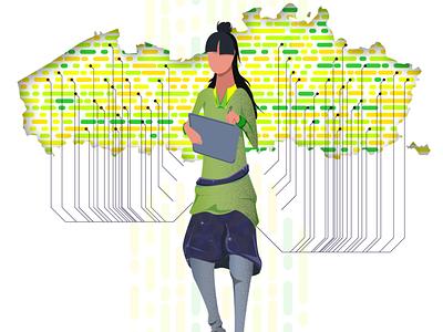 Mijn illustration 2 belgium branding vector connect coverage concept illustration
