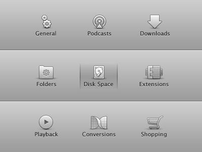 New preference pane icons for Miro (OSX UI icons) miro icons osx icon chrome ui interface icons set