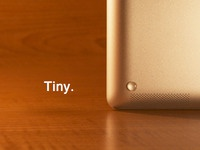 iDroplets - Tiny rubber feet for your iPad.