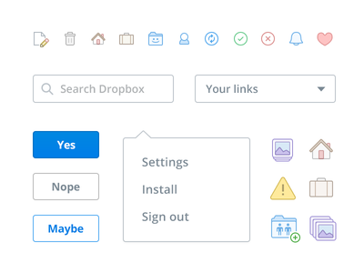Dropbox web update