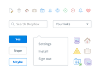 Dropbox web update