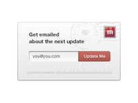 Subscribe panel UI UX for the new Miro post-download page