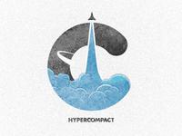 Hypercompact Emblem - Logo Iteration 2