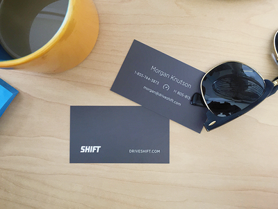 Shift Business Cards