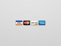 Proper Credit Card Icons
