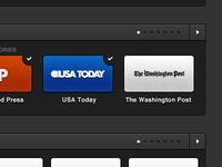 Publication Navigation (web app UI UX)