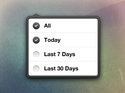 Free download of my iOS style popover free download ios