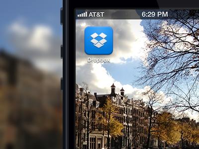 New Dropbox iOS Icon ios icon ios icon dropbox