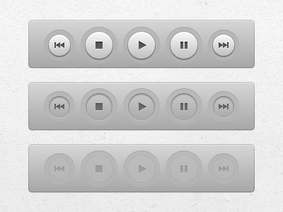 Just finished Miro's new play buttons (OSX app interface UI) pcf miro interface ui ux app osx open-source button buttons design user play