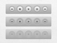 Just finished Miro's new play buttons (OSX app interface UI)