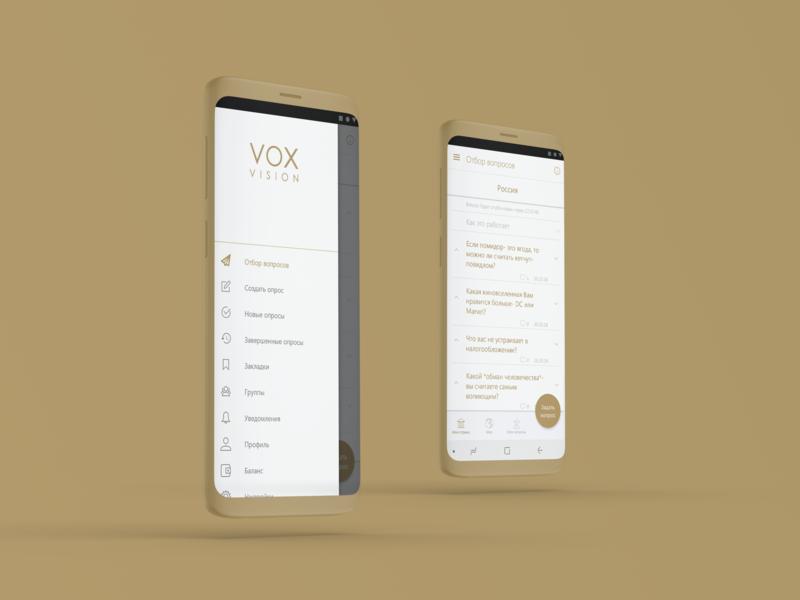 Voxvision | Release ux release app design ui