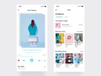 Daily UI #001 - Music Player