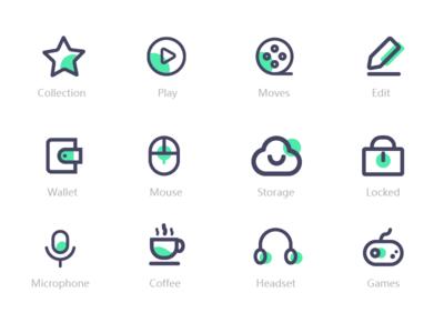 Icon_White design