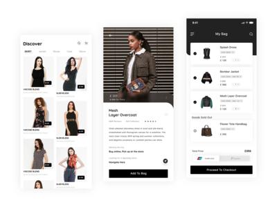 E Commerce App Interface