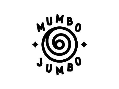 Mumbo Jumbo black magic hypnosis tattoo magic nonsense mumbo jumbo logo