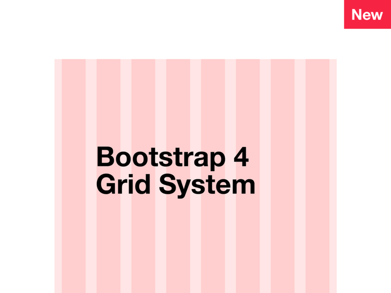 Bootstrap 4 Grid System free sketch photoshop psd file 12 column grid system template bootstrap 4