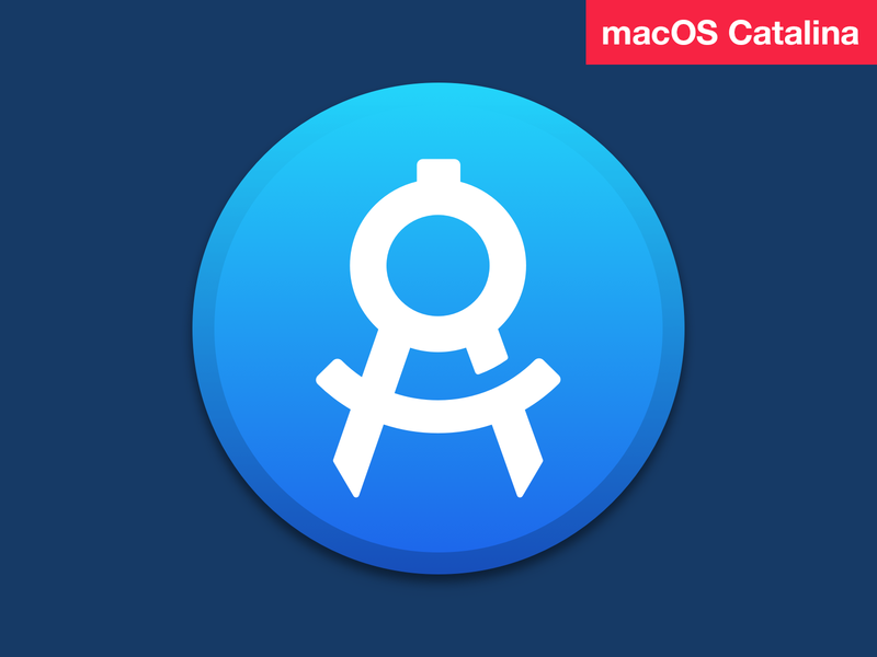macOS Catalina App Icon figmadesign figma template psd sketch photoshop apply pixels app icon osx icon osx macosx 10.15 catalina macos