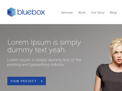 New bluebox site in the works
