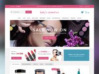 Make-up shop redesign