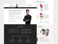 Skincare story page