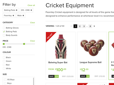 Product filter/refine category web website ui flat shop ecommerce product filter refine form