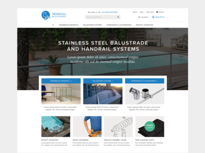 Shop redesign web website ui flat modern responsive shop ecommerce minimal
