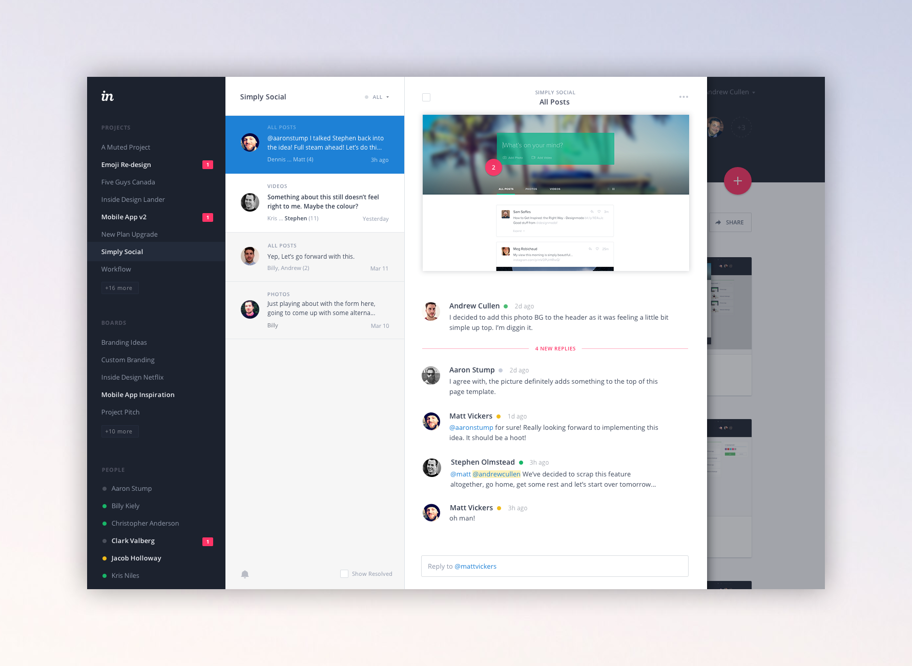 Dribbble - inbox-full.png by Andrew Cullen