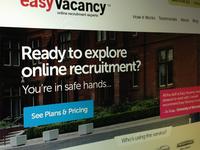 Recruitment website redesign