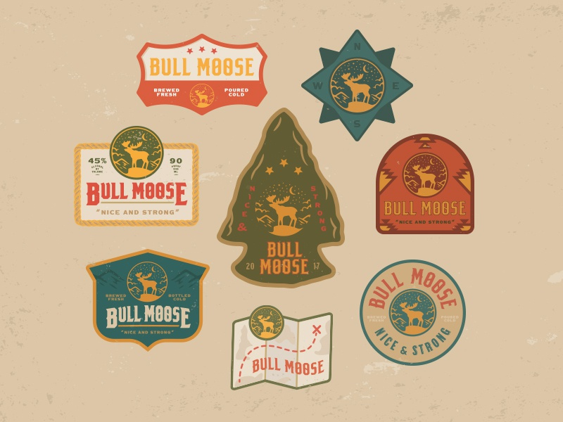 Bm badges dribbble