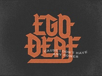 Ego Deaf - 💀 option