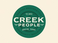 Creek People Badge